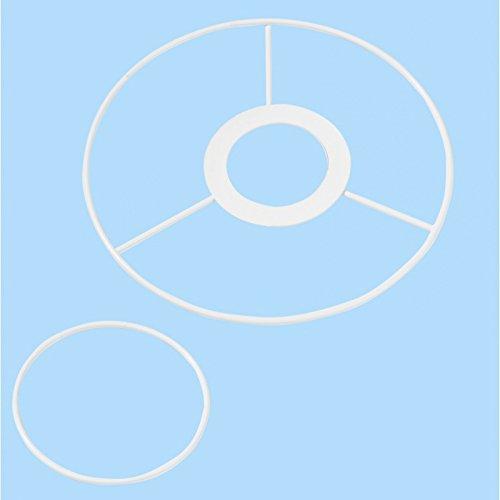 CREApop® Drahtgestell f. Lampenschirm 15 u. 8 cm Ø E14