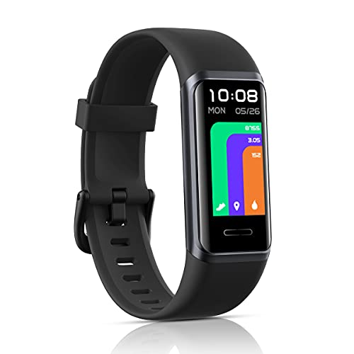 LATEC Fitness Tracker - Activity Tracker Watch with Alexa Built-in, 5ATM...