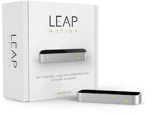 Leap Motion LM-C01-DE Controller Gestuale, collegato tramite cavo Nero