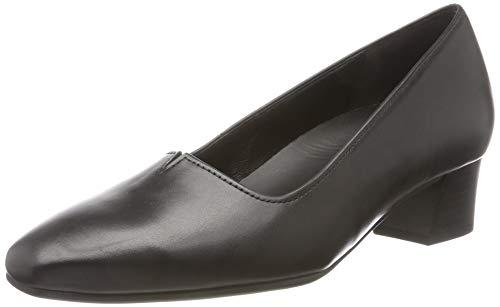 Gabor Shoes Damen Comfort Fashion Pumps, Schwarz (Schwarz 57), 43 EU
