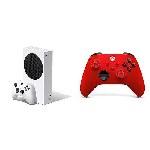 Xbox Series S + Xbox Wireless Controller, Red Valentine