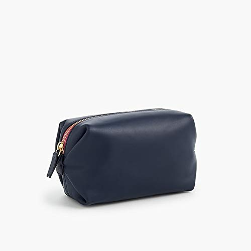 J.Crew Women's Harper Mini Dopp Kit In Italian Leather