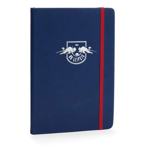 RB Leipzig Notebook, Blau Unisex Book, RasenBallsport Leipzig Sponsored by Red Bull Original Bekleidung & Merchandise