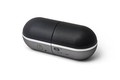 MusicMan 4626 BT-X21 Twins Bluetooth Soundstation Lautsprecher mit Freisprechfunktion schwarz