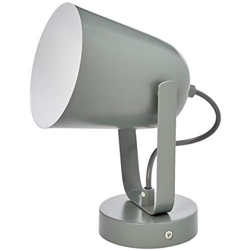 Umi. by Amazon Wandleuchte, modernes Design, Metallgrau, 25,4 cm