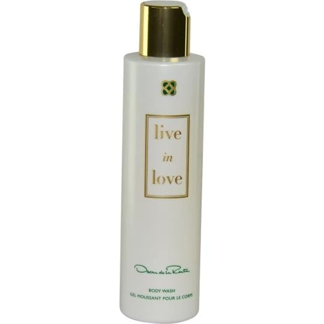 修正薄めるシリングOscar de la Renta Live in Love Body Wash-6.8 oz. by Oscar de la Renta