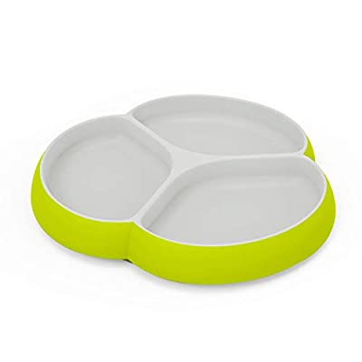 Amazon - Save 50%: Silicone Baby Plates with Suction – SILIVO Non Slip Toddler Plates, Divided Pl…