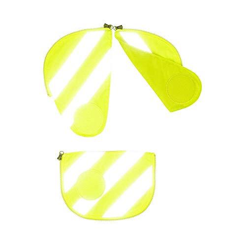 ERGOBAG Pack Sicherheitsset mit Reflektorstreifen, 3tlg. gelb