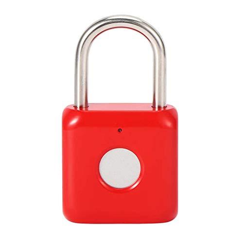 TWDYC Serrature antifurto antifurto Impermeabile con Chiave Fingerprint USB per Scatola di distribuzione cassetto cassetto Lucchetto Senza Chiave (Color : B)