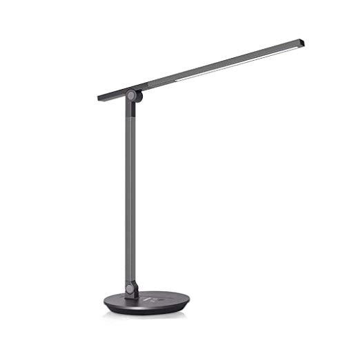 Lámpara Escritorio Protección de los ojos lámpara de escritorio de escritorio del dormitorio de noche suave luz de lámpara de escritorio LED Sin parpadeo de aprendizaje de lectura Protección de luz re