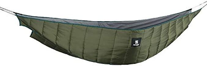 OneTigris Shield Cradle Double Hammock Underquilt, Hammock Camping Essentials (3 Seasons)