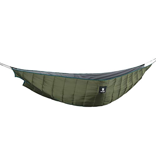 OneTigris Shield Cradle Double Hammock Underquilt, 3 Seasons, Essential Hammock Gear