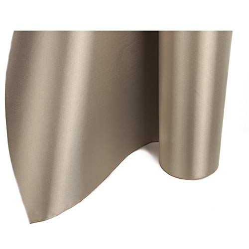 """64/"""" x 6/' Elastic Material EMF Blocking /& RF RFID Shielding Silver Fabric Roll"""