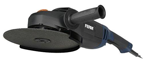 FERM Haakse slijpmachine 2500W - 230mm - Veiligheidsschakelaar - Soft-Start - Verstelbare zijgreep - Soft grip