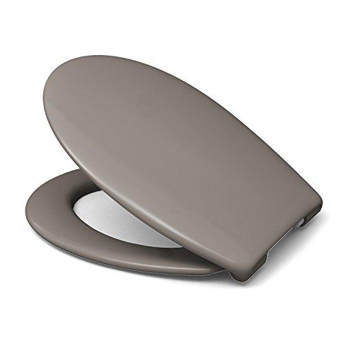 Sanifri 470011131 WC-Sitz Nera, taupe