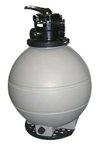 Rx Clear Patriot 22-Inch Sand Filter   200 Lb Sand Capacity   for Above Ground Swimming Pools Up to 22,000 Gallons