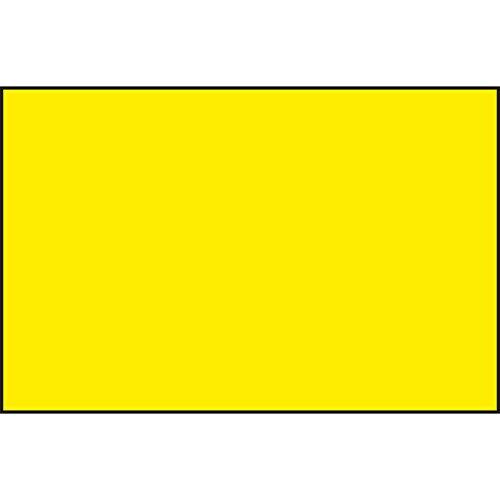 Hinweisschild leer | zum selbst beschriften | 400x250 mm | gelb/schwarz | 1 Stück