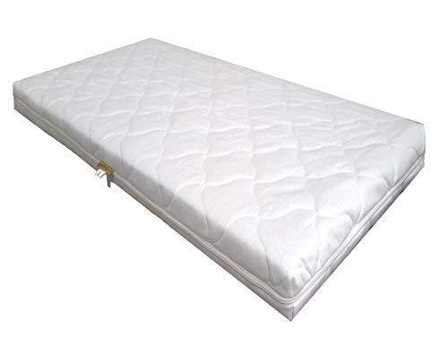 KiNDERWERLT schuimstofmatras Comfort gewatteerd voor kinderbed wiegen 90 x 40 x 7 cm babymatras matras schuimkernmatras