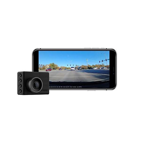 Garmin Dash Cam Tandem, Front and Rear Dual-lens Dash Camera With Interior Night...