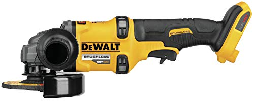 DEWALT FLEXVOLT 60V MAX Angle Grinder with Kickback Brake, 4-1/2-Inch to 6-Inch, Tool Only (DCG418B)
