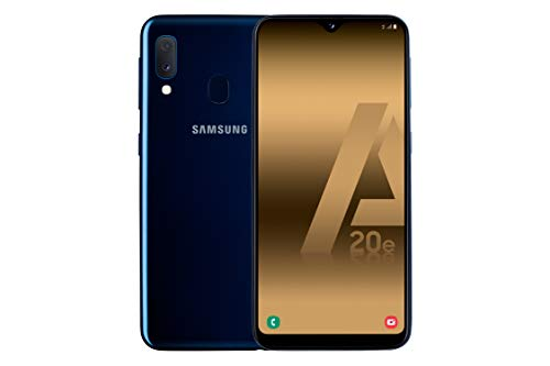 Samsung Galaxy A20E Azul Móvil 4G Dual Sim 5.8 Pls TFT LCD HD+/8Core/32GB/3GB RAM/13Mp+5Mp/8MP