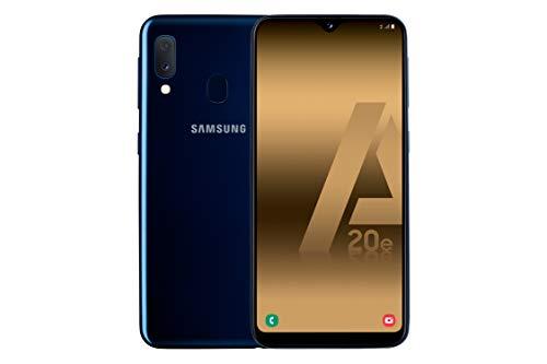 Samsung Galaxy A20e - Smartphone de 5.8' Super Amoled (13 MP, 3 GB RAM, 32 GB ROM), Color Azul [Versión Española]