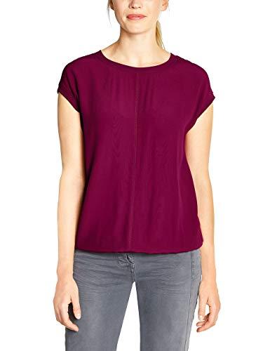 Cecil Damen 313890 T-Shirt, Mystic Berry, Medium (Herstellergröße:M)