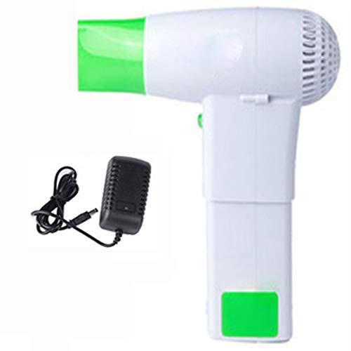 Cordless Haardroger met USB-batterijbank, 450 W, draadloos, draagbaar, met lithium-batterij, voor buitengebruik (afneembaar)