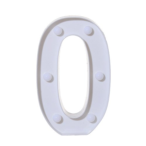 Clearance! Number Light Sign WATOPI Marquee Number Light Up 0-9 Digits Lights Sign for Wall Hanging/Standing Wedding Birthday Anniversary Birthday Year Wedding Babey Shower Party Xmas Gifts Battery