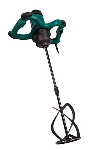 Taladro mezclador de pintura/ cemento VONROC de 1800W, 2 velocidades, tecnologías de Constant Speed (velocidad constante) y arranque suave, 3 metros de cable de goma, con una varilla mezcladora