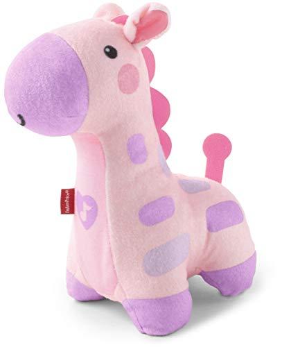 Fisher Price Giraffe kuschelweich - rosa - mit Musik und Lichteffekt