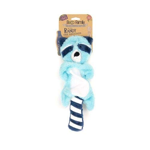 Beco Stuffing Free Toy - Randy The Racoon - Medium
