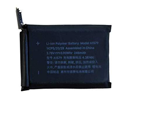 Onlyguo 3.8v 200mah A1579 Batería de Reemplazo para iWatch Series 1 (42mm)