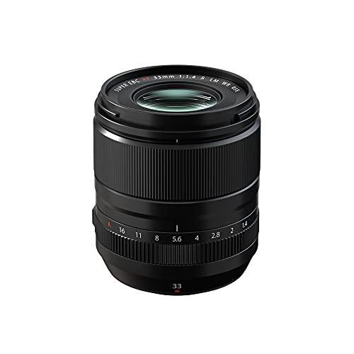 FUJIFILM フジノンレンズ 単焦点レンズ XF33mmF1.4 R LM WR ブラック
