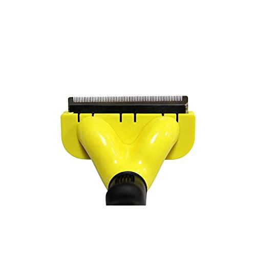 RUFOMX - Cepillo Rastrillo Profesional MEDIANO para Perro y Gatos Quita Nudos Dejando el Pelo de tu Mascota Limpio y Acomodado. Consiente a tu mascota y a la vez dejalo