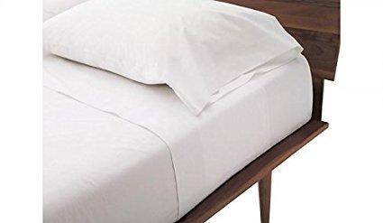 PLUSHY COMFORT Full Sleeper Sofa Set White 100 Egyptian Cotton, 600 Thread Count - (54'x 72'x 6')