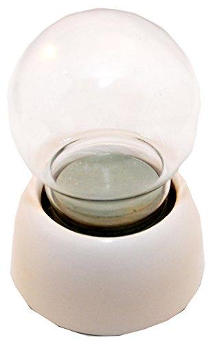 65mm Do it yourself Schneekugel mit Glaskugel und Porzellansockel - 40002