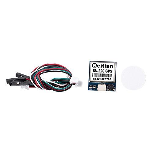 bobotron Bn-220 3.0V-5.0V TTL, módulo Gnss, antena GPS Glonass Dual, dispositivo integrado