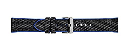 Morellato Cinturino unisex, Collezione SPORT, mod. Net Ball, in tessuto tecnico e gomma - A01X5122C62, 20mm