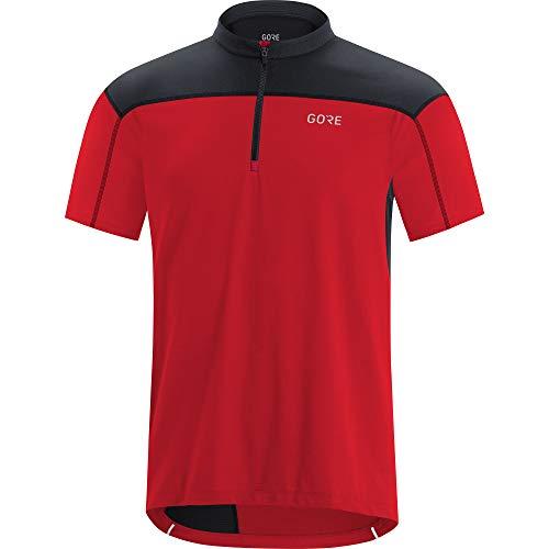 GORE WEAR Herren Wear C3 Jerseys, Red/Black, XL EU