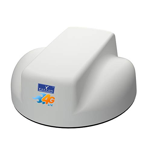 Falcon EVO 4G Dachantenne (LTE/GSM/3G/2G) - Mobiles Breitband Internet für Wohnmobil und Caravan incl. mobilen WLAN-Router