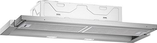 Neff D49ED22X0 Hotte plate à encastrer/intégrable/89,80 cm/argent