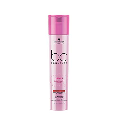 Schwarzkopf BC Bonacure pH 4.5 Color Freeze Vibrant Red Shampoo 250ml