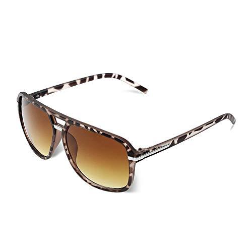 SHANGYUN Gafas de Sol graduadas de Estilo para Hombre de Moda Que conducen Gafas de Sol de Marca VintageUV400 C4