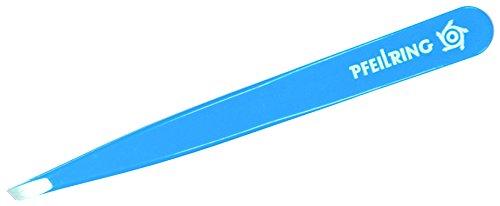 Pfeilring Erwachsene Pinzette, rostfrei, himmelblau, im Blister Maniküre, Mehrfarbig, One Size