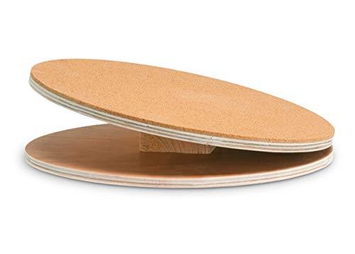 Karlie 1030511 Bogie Disco de Madera Running Disc, 30 cm con Revestimiento de Corcho, L
