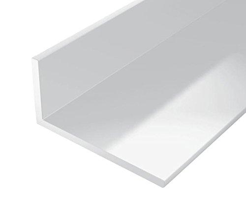 GAH-Alberts 479220 Winkelprofil | Kunststoff, weiß | 1000 x 20 x 10 mm