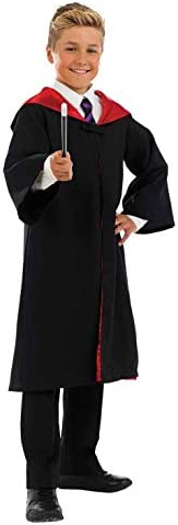 Kids Witch Wizard Costume Boys Girls Magical Robes Magic School Outfit Small product image