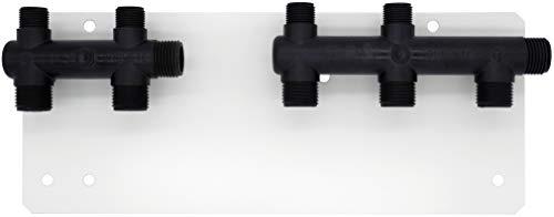 Kit placa con distribuidores para conexión - baño. NOYON & THIEBAULT
