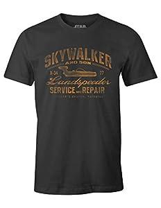Star Wars Landspeeder Repair T-Shirt Grey Medium officially Licensed dispatched same day